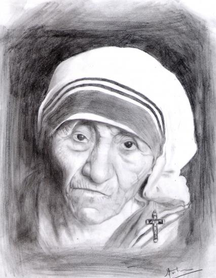 Mother Teresa by arunayathil